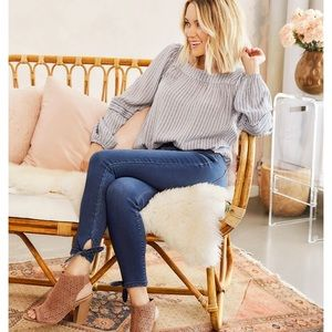 LC by Lauren Conrad ankle tie jeggings